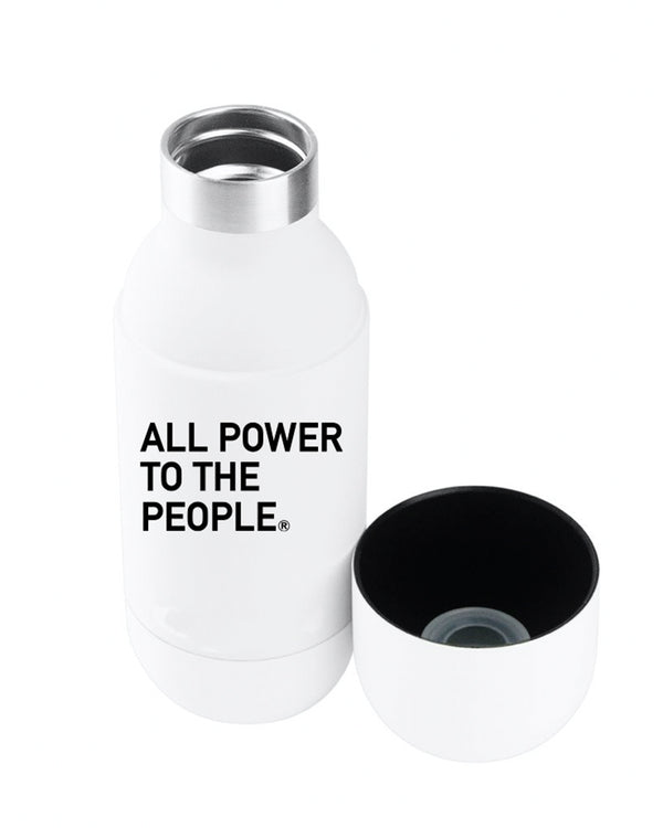 ALL POWER ASOBU INSULATED WATER BOTTLE- APTTP21-WHITE