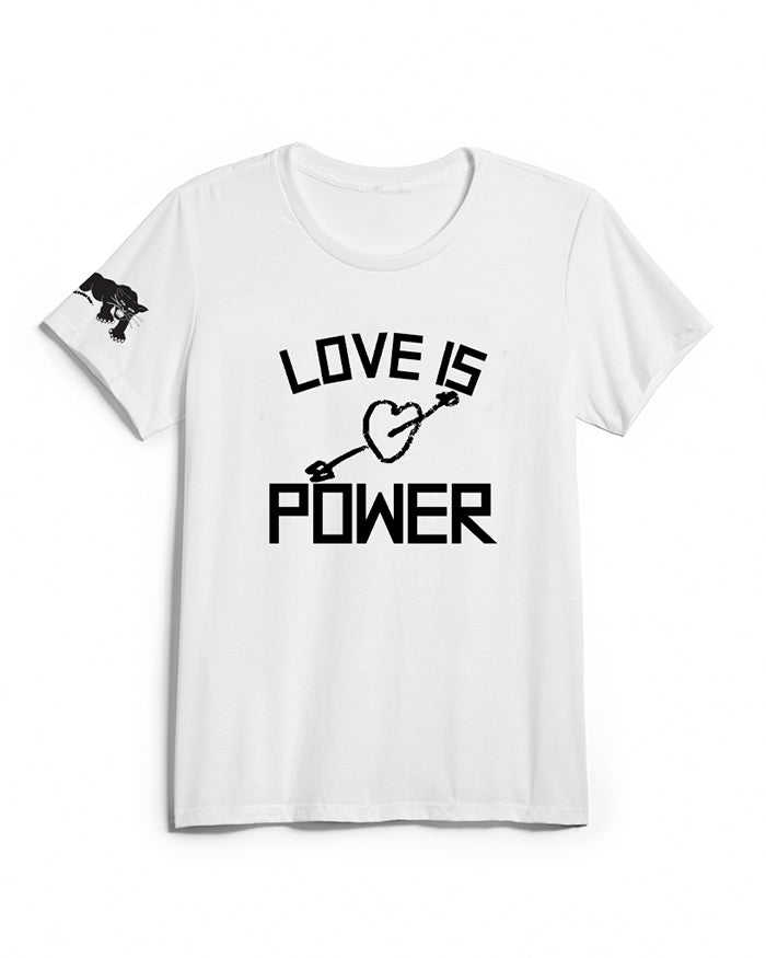 Love Is Power - Unisex T-Shirt APTTP28- White