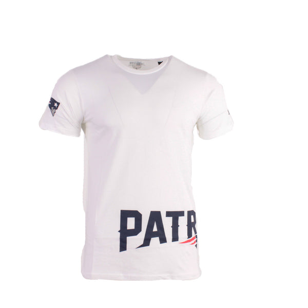 New Era Wrap Around T-Shirt NFL New England Patriots Weiß American Football - Brand Dealers Arena e.K. - BDA24