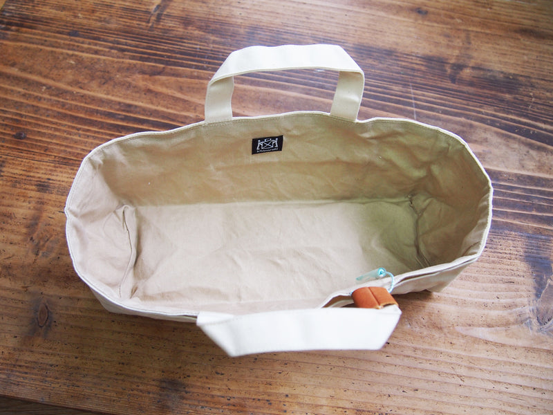 Waxed Canvas Tool Tote