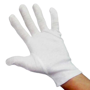 Cotton Gloves - Pack of 5 Pairs (Hand Washable)
