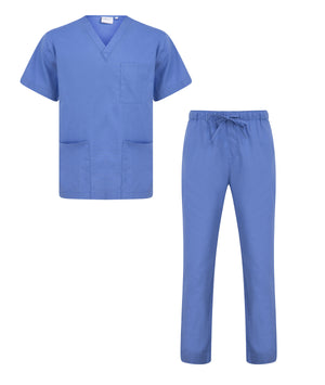 Proluxe Professional Healthcare Scrub Suit Set - Top & Trouser