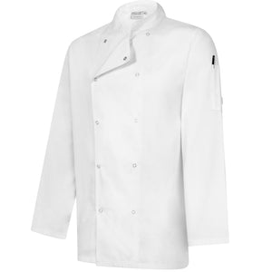 Professional Chefs Jacket - Long Sleeve - White