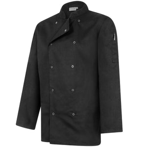 Professional Chefs Jacket - Long Sleeve - Black