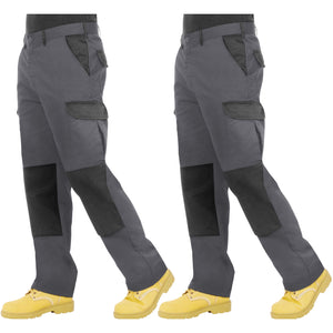 Proluxe Twin Pack - Endurance Two Tone Cargo Trouser