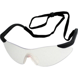 UCi Arafura Clear Safety Glasses with Removable Neck Cord - 4pcs