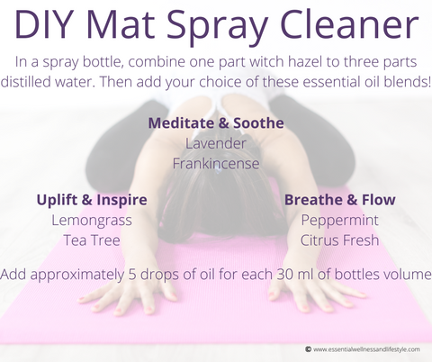 DIY Mat Spray Cleaner