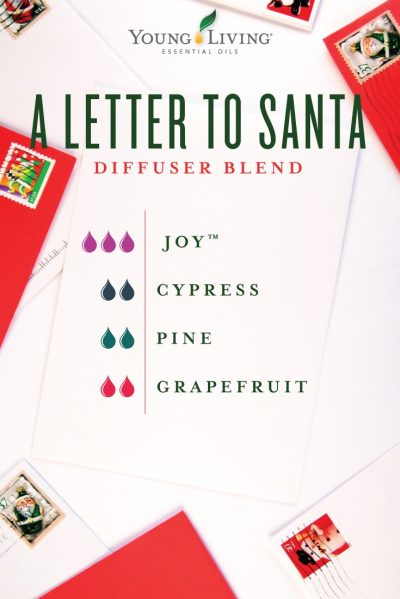 A Letter To Santa Diffuser Recipe Young Living