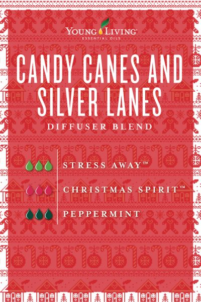 Candy Canes and Silver Lanes Diffuser Recipe Young Living