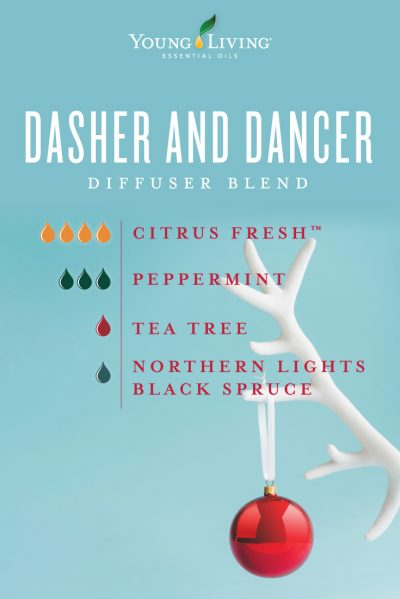 Dasher and Dancer Diffuser Recipe Young Living