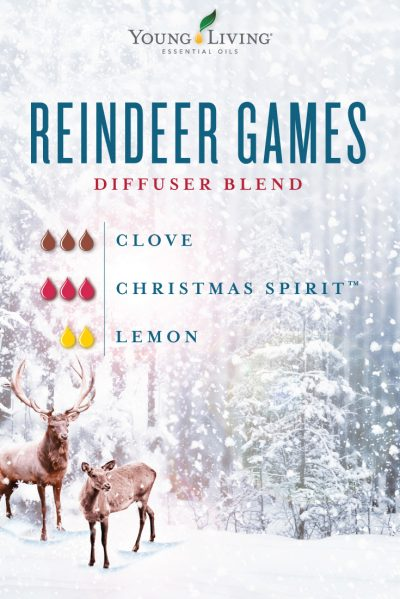 Reindeer Games Diffuser Recipe Young Living