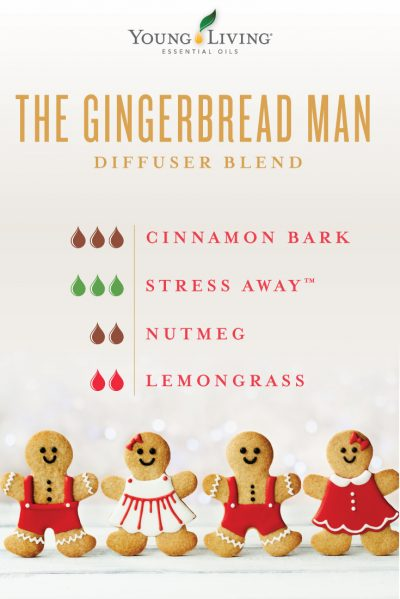 The Gingerbread Man Diffuser Recipe Young Living