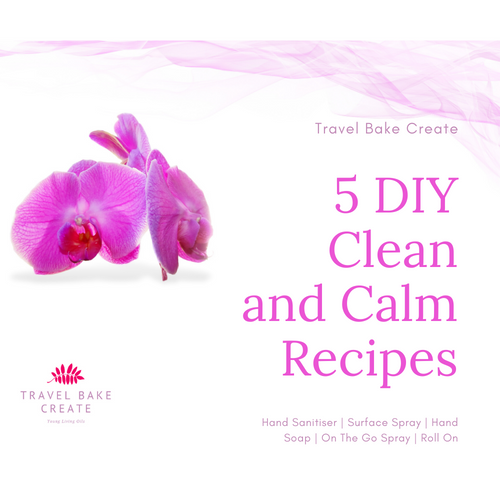 5 DIY Clean and Calm Recipes