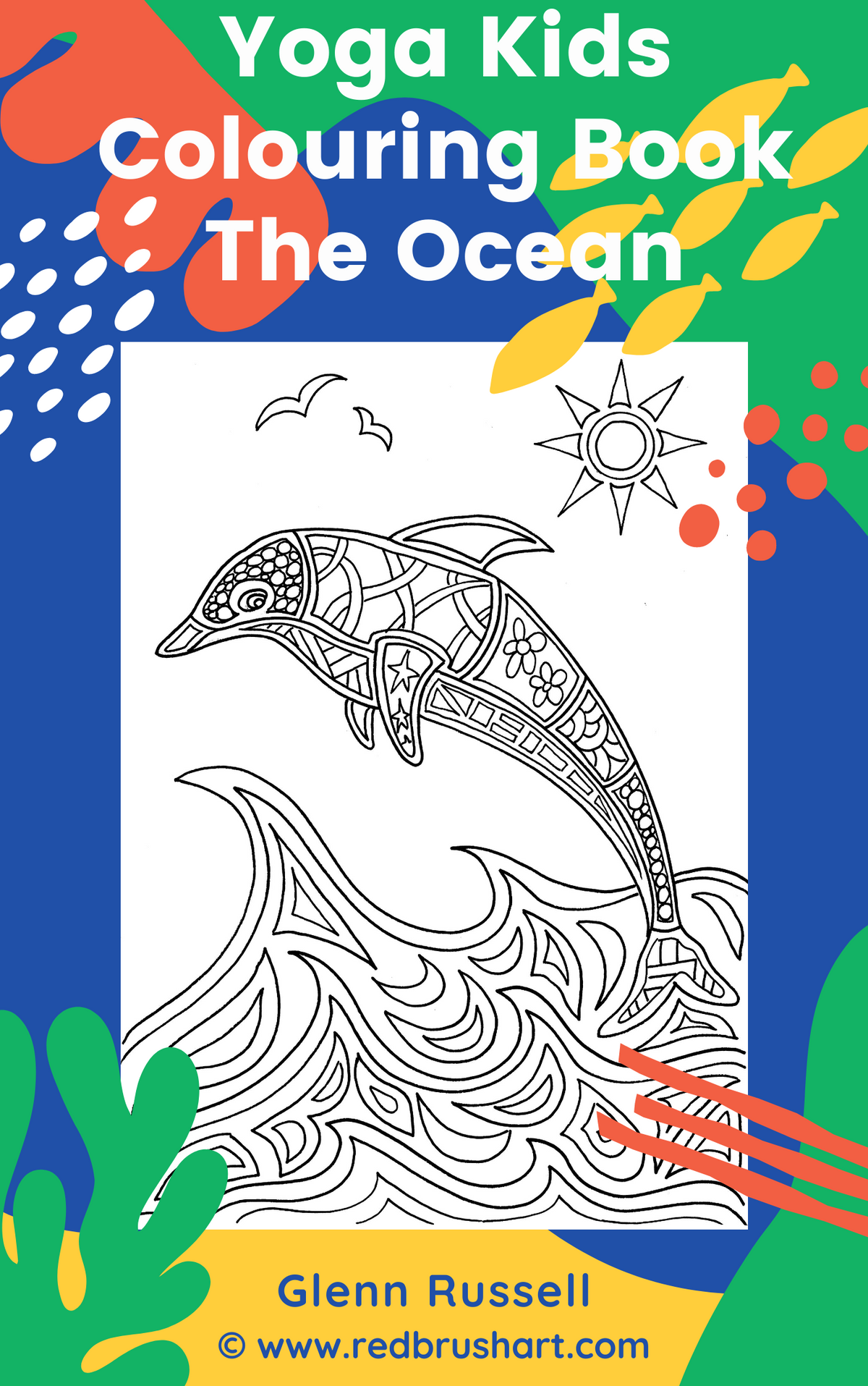 Yoga Kids Colouring Book The Ocean
