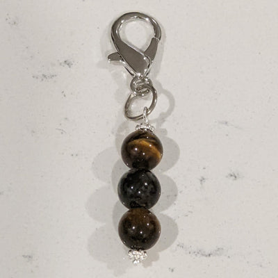 Crystal Pet Charm - Tiger's Eye