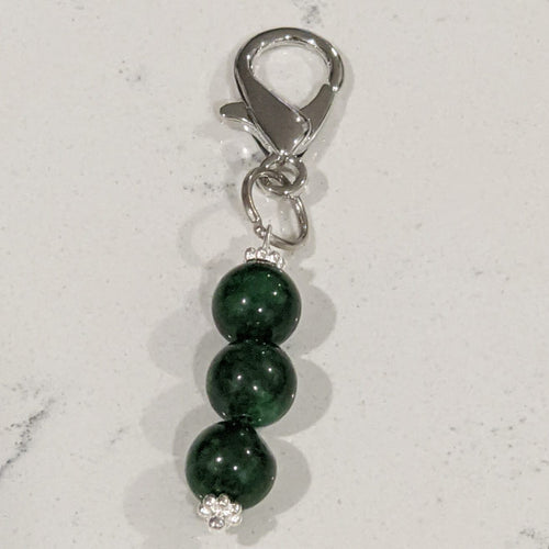 Crystal Pet Charm - Jade