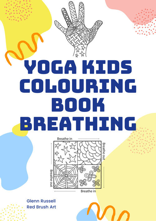 Yoga Kids Colouring Book Breathing