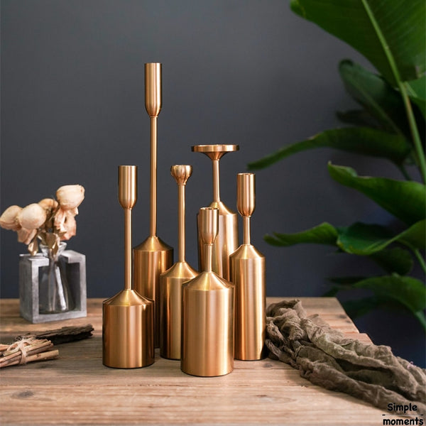Modern Industrial Candle Holders