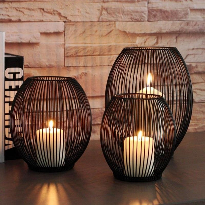 Modern Dark Chocolate Lantern