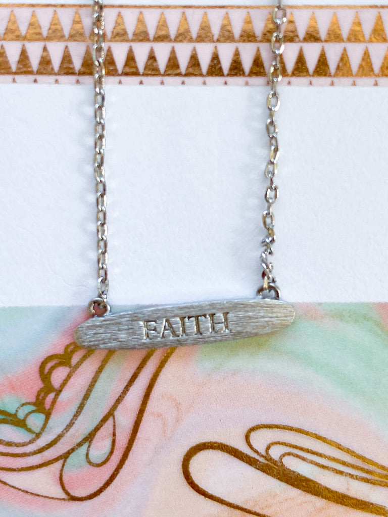 A Little Bit of Faith Necklace
