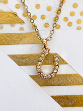 Load image into Gallery viewer, Lucky Horseshoe Necklace