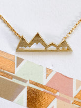 Load image into Gallery viewer, Mountain Necklace