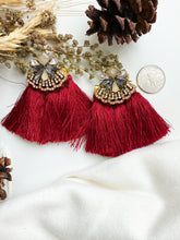 Load image into Gallery viewer, Make a Statement Earring Red