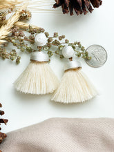 Load image into Gallery viewer, Saguaro Earring Ivory