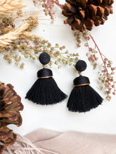Load image into Gallery viewer, Saguaro Earring Black