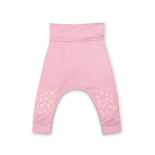 Blush Pink Harem Pant - Go Little One Go