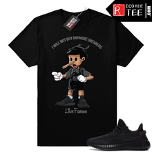 Load image into Gallery viewer, Yeezy Boost 350 V2 Black | Sneakerhead Pinocchio | Black Shirt