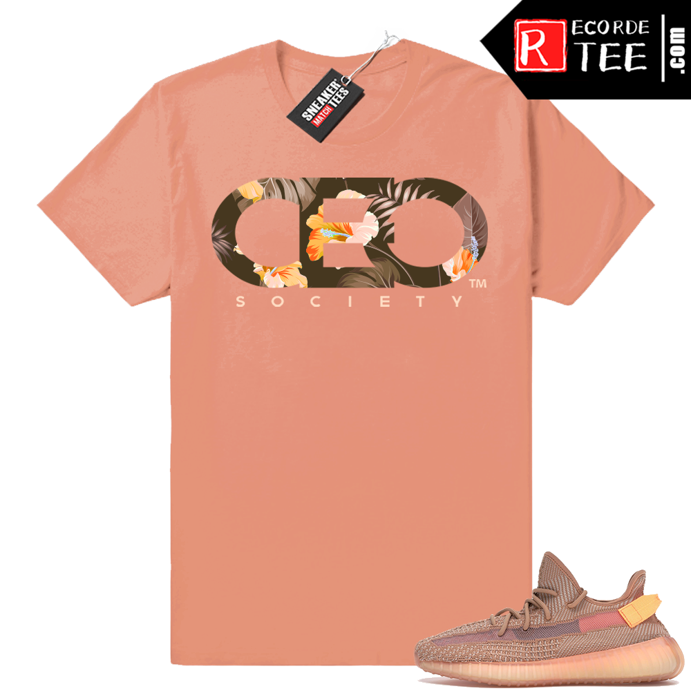 Yeezy 350 Clay | CEO Floral | Clay Shirt