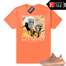 Load image into Gallery viewer, Yeezy 350 Clay | Theory of a Hustler | Hyper Orange Shirt