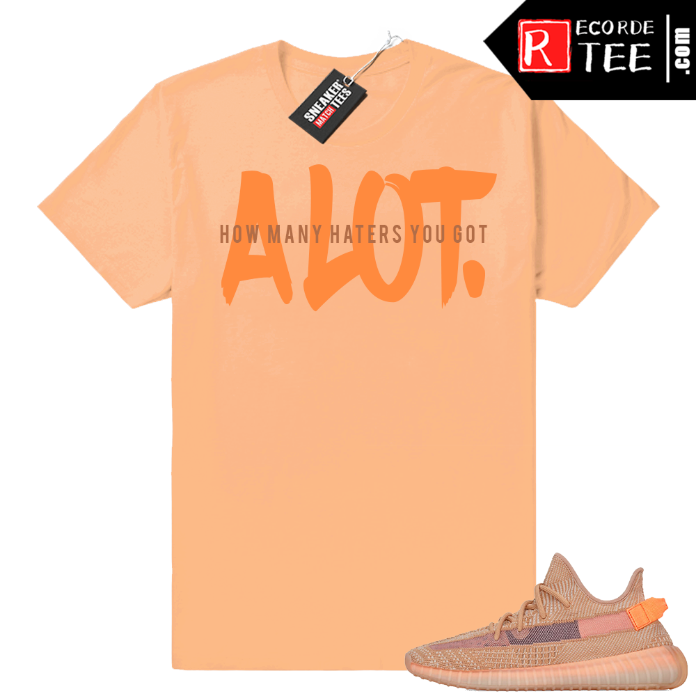 Yeezy 350 Clay | A LOT | Light Clay shirt