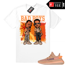 Load image into Gallery viewer, Yeezy 350 Clay | Bad Boys | White shirt
