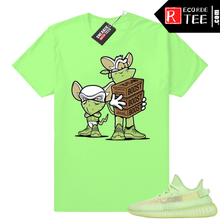 Load image into Gallery viewer, Yeezy Glow | Sneaker Heist | Bright Green Shirt