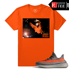 Load image into Gallery viewer, Adidas Yeezy Boost 350 V2 Beluga match shirt – Saint Pablo – Orange