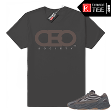 Load image into Gallery viewer, Yeezy 700 V2 Geode | CEO Logo | Dark Grey Shirt