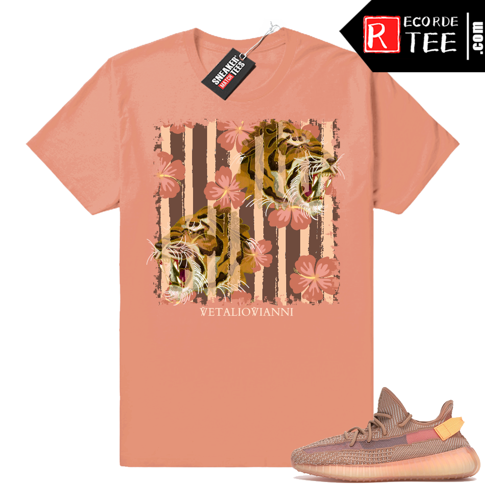 Yeezy 350 Clay | Floral Tigers | Clay Shirt