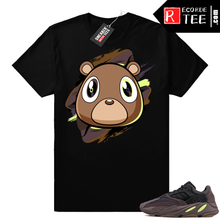 Load image into Gallery viewer, Mauve 700 Yeezy Bear t-shirt | Yeezy Bear | Black shirt