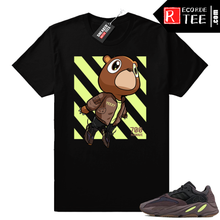 Load image into Gallery viewer, Mauve 700 Yeezy | Boost Bear | Black shirt