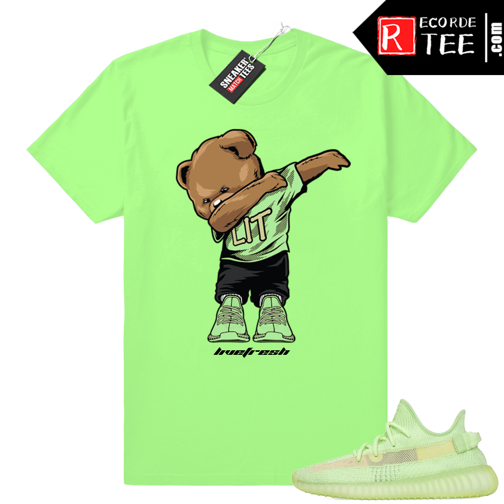 Yeezy Glow | Dabbin Bear | Bright Green Shirt