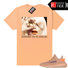 Load image into Gallery viewer, Yeezy 350 Clay | Diamonds Dancing | Light Clay shirt