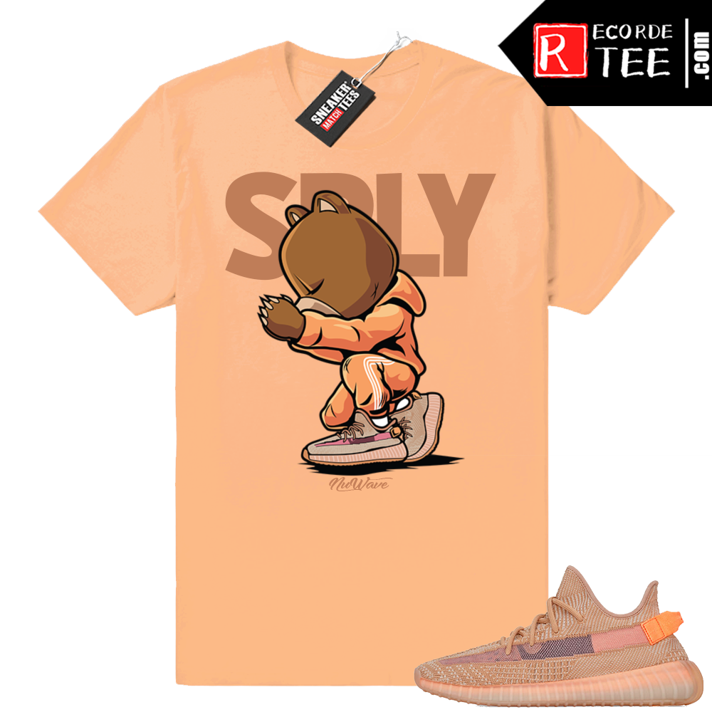 Yeezy 350 Clay | SPLY | Light Clay shirt