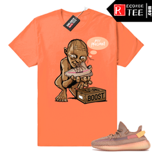 Load image into Gallery viewer, Yeezy 350 Clay | My Precious | Hyper Orange Shirt