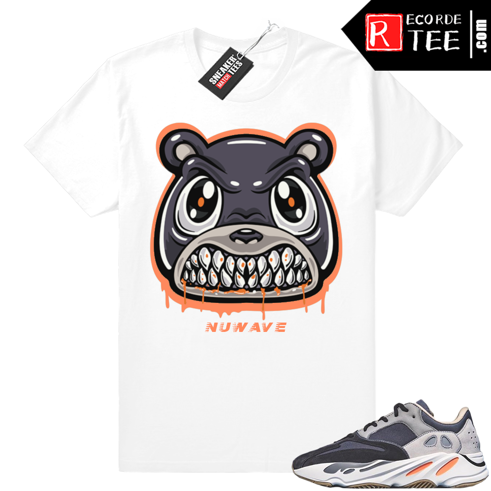 Magnet Yeezy 700 | Angry Bear Drip | White shirt