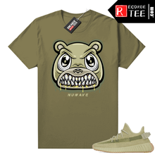 Load image into Gallery viewer, Yeezy Boost 350 V2 Sulfur shirt – Olive – Angry Bear