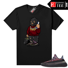 Load image into Gallery viewer, Yecheil Yeezy 350 shirt black – Trap Bear