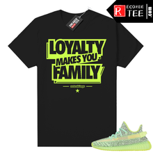 Load image into Gallery viewer, Yeezreel Yeezy 350 shirt black – Family