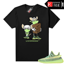 Load image into Gallery viewer, Yeezreel Yeezy 350 shirt black – Sneaker Heist